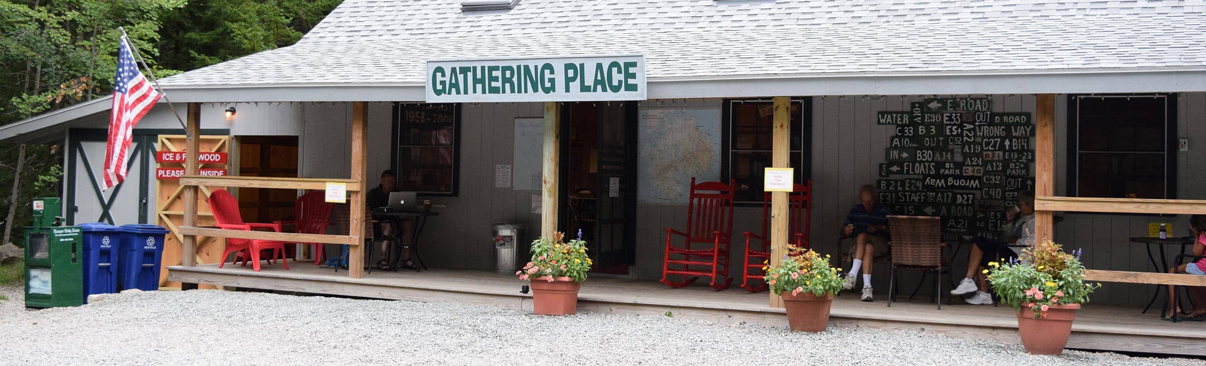 the gathering place at mount desert campground near bar harbor me